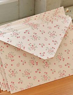 """Invitatii de nunta 12 Stil Floral Hârtie Cretată 6 ½""""×4 ½"""" (16.6*11.5cm)"""