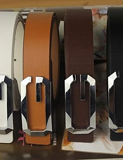 Men Buckle,Party Leather All Seasons