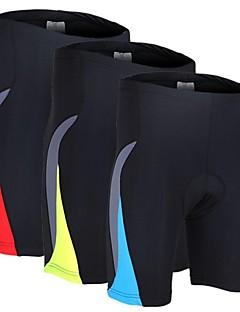 Arsuxeo® מכנס קצר מרופד לרכיבה לגברים נושם / ייבוש מהיר / עיצוב אנטומי / דחיסה / 3D לוח אופנייםמכנסיים קצרים / שורטים (מכנסיים קצרים)
