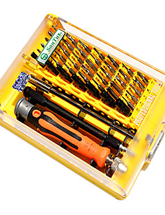 15.8*11*3 cm 45 PCS Carbon Hand Tools Set