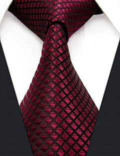 U25 Shlax & Wing Extra Long Size Wedding Necktie Solid Color Red Crimson Mens Tie Silk