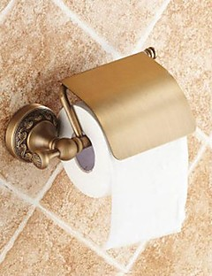 Antik mässing toalettpappershållare