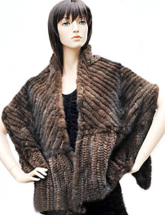 Fur Wraps Shawls Feather/Fur Black / Coffee Party/Evening / Casual