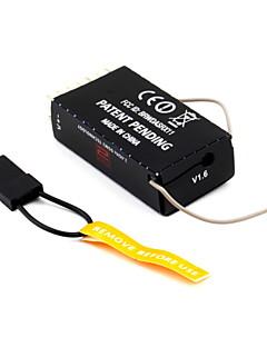 DX8 DX7 6CH 2.4GHz AR6100E RC מקלט JR DX6i