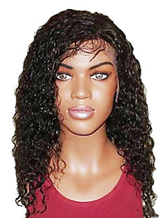 20 Inch  Super Curly Remy Human Hair Full Lace Wig  Swiss Lace 130 Density More Color Available