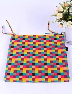 LILY ® egyszerű ronggyal mosható tér Szivacs párna pamut, 4 cm vastag 40 * 40cm szék párna