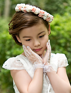 Flower Girl's Foam Headpiece - Wedding/Special Occasion/Casual Flowers
