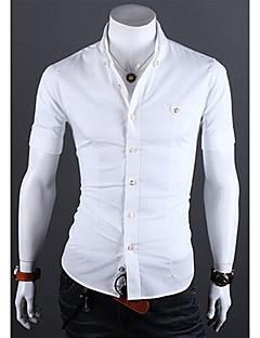 Glory Shirt Collar Short Sleeve Fashion Shirt