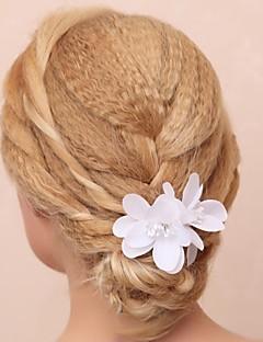 Dame / Blomsterpige Bomuld / Stof Medaljon-Bryllup / Speciel Lejlighed / Udendørs Blomster