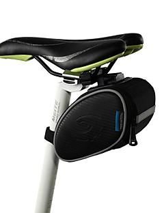 Bolsa para Bagageiro de Bicicleta / Bolsa de Ciclismo Á Prova-de-Água / Prova-de-Pó Ciclismo Pele PU Preto