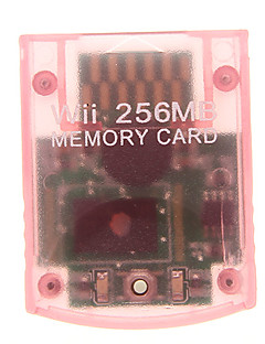 256MB Memory Card for Wii