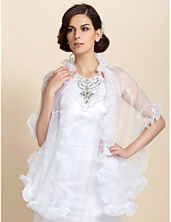 Elegant Lace Wedding / Evening Shawl (Flere farver)