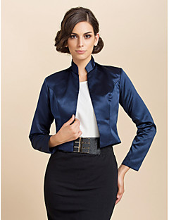 3/4 Sleeve Satin Evening/Casual Wrap/Evening Jacket (More Colors) Bolero Shrug