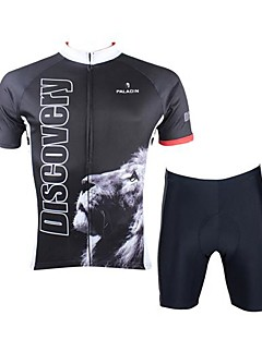 Cycling Jersey with Shorts Unisex Short Sleeve Bike Breathable / Quick Dry Clothing Sets/Suits Silk Spring / Summer / Fall/AutumnExercise