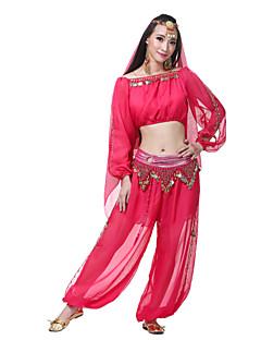 ריקוד בטן תלבושות בגדי ריקוד נשים ביצועים משי