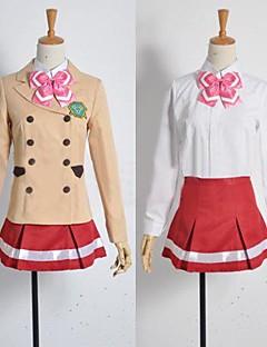 inspirado en valvrave shoko sashinami trajes de cosplay