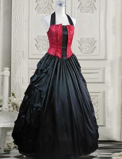 Bloody Vampire Princess Strap Backless Floor-length Gothic Lolita Dress