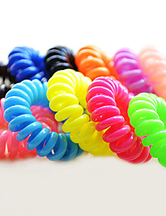 Magic Hair Bands 8Pcs/ Pack(Random Color)