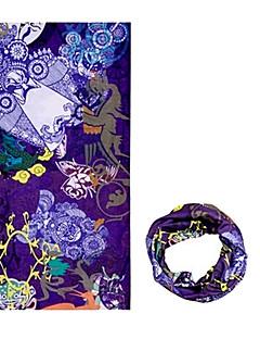 כובעים / בנדנה / צוואר קרסוליות אופנייים נושם / עמיד / עמיד אולטרה סגול / לביש / קרם הגנה לנשים / לגברים / יוניסקס סגול פוליאסטר