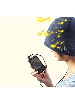 gorro auriculares incorporados 3.5mm para tablet iphone mp3