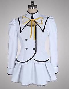 inspirado en Seirei tsukai no hay baile hoja claire rouge trajes de cosplay