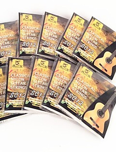 SC12 Silver-Plated Nylon Classical Guitar Strings 10Pcs