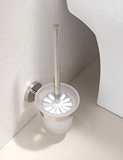 Stainless Steel Bright Polished Finish Toilet Brush Holder