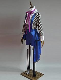 קיבל השראה מ Black Butler Ciel Phantomhive אנימה תחפושות קוספליי חליפות קוספליי טלאים סגול שרוולים ארוכיםוסט / עליון / מכנסיים / כובע /