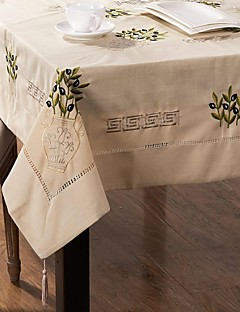 Broderie Nappe carré Nappe 50''