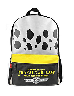 One Piece Death Doctor Trafalgar Law Black Dots Pattern Cosplay Backpack/Bag