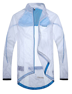 SANTIC Pánské Dlouhé rukávy Jezdit na kole sako Oblečení proti sluníčku Vrchní část oděvuVoděodolný Rychleschnoucí Větruvzdorné Nositelný