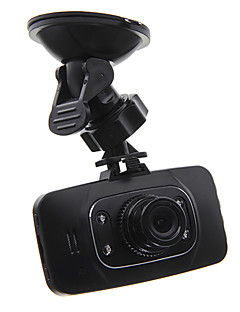 2.7 Inch 1080P HD Car DVR With LED Night Vision 170 Degree Wide Angle View