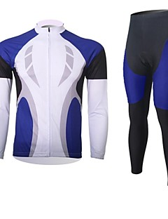 XINTOWN® Cycling Jersey with Tights Men's Long Sleeve BikeBreathable / Thermal / Warm / Quick Dry / Moisture Permeability / Compression /