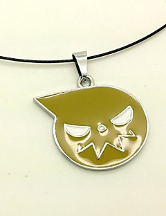 Jewelry Inspired by SoulEater Cosplay Anime Cosplay Accessories Necklace Yellow Alloy Male