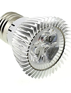 3W E26/E27 LED-spotlys MR16 3 Højeffekts-LED 220 lm Kold hvid AC 85-265 V