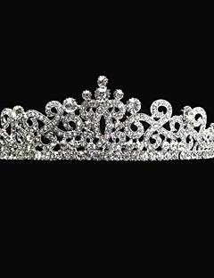 elegant legering med rhinestone bryllup tiaraer