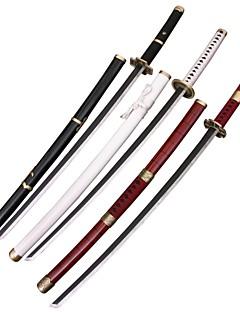 한 조각 'roronoa의 조로의 (3 칼 / 세트) 새로운 (yubashiri / 삼대 kitetsu / 와도 ichimonji) 코스프레 검