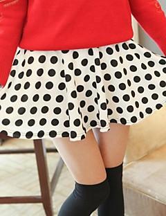 Women's White/Black Skirts , Casual/Cute Mini