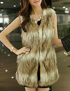 Women's Fashion Leisure Fur Vest