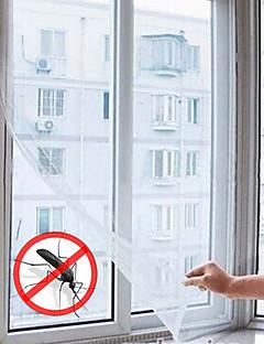 Type d'utilité autocollant anti-moustiques fenêtre magique voilages (61''l * 51''w)
