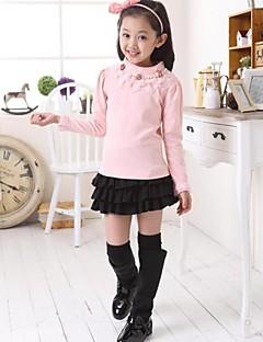 Girl's Fashion Lovely Princess Sleeve Lesbian Pearl TShirt Primer Shirt
