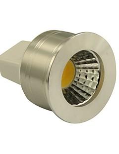 GU5.3(MR16) Spot LED MR11 1 COB 270LM lm Blanc Chaud Gradable DC 12 V