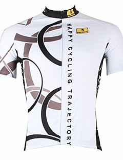 PALADIN® Cycling Jersey Men's Short Sleeve Bike Breathable / Quick Dry / Ultraviolet Resistant Jersey / Tops 100% Polyester StripeSpring