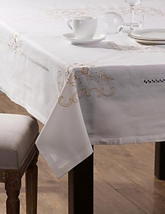 Set of One Linen Tablecloth and Six Linen Table Napkin Cloth