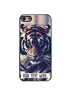 personalisierte Fall Tigerentwurf Metallkasten für iphone 5/5 s