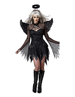 Performance Women's Black Angle Costume Dress-Including Dress And Wing(More Colors)
