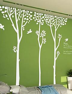 wall stickers Vægoverføringsbilleder, moderne Enkel skov fugle pvc Wall Stickers