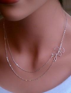 Schmuck Halsketten Alltag Aleación Damen Goldfarben / Silber Hochzeitsgeschenke
