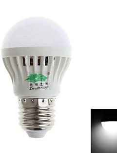 Zweihnde E26/E27 3 W 11 SMD 3528 280-300 LM Natural White G Decorative Globe Bulbs AC 85-265 V