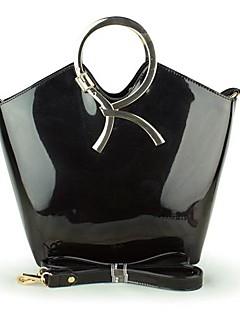 Sort / Lyserød / Beige / Mørkerød / Blå Damer - Håndtaske - PVC